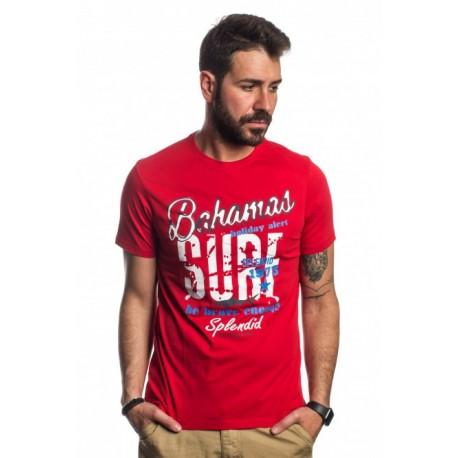 Splendid 41-206-047 COUNTER red t-shirt
