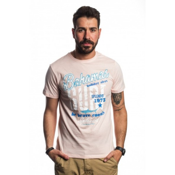 Splendid 41-206-047 COUNTER pink t-shirt