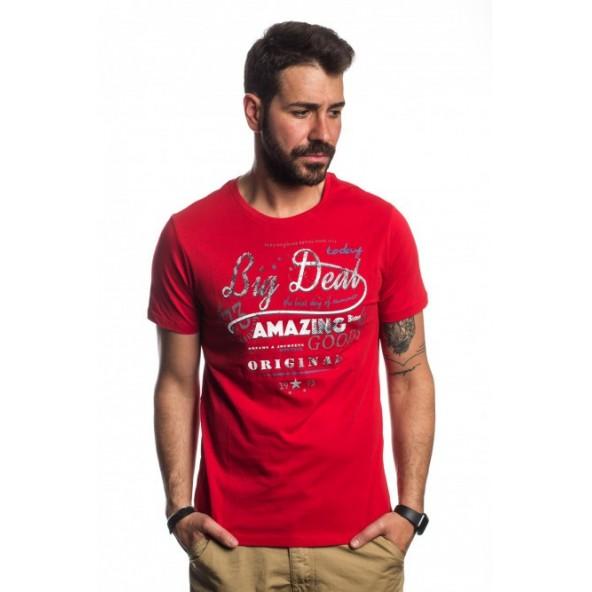 Biston 41-206-048 AMAZE red t-shirt