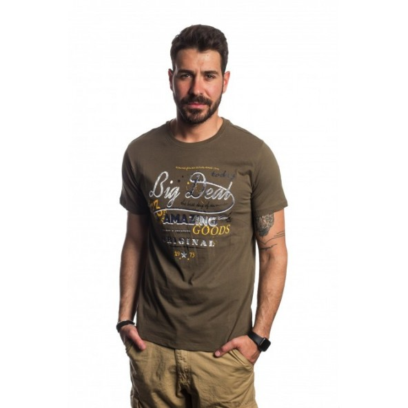 Biston 41-206-048 AMAZE khaki t-shirt