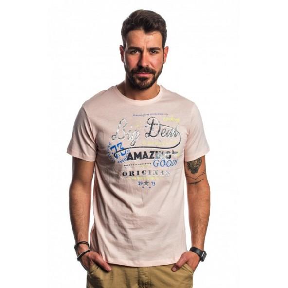 Biston 41-206-048 AMAZE light rose t-shirt
