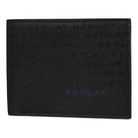Replay FM5181.000A3177A.098 Πορτοφόλι μάυρο