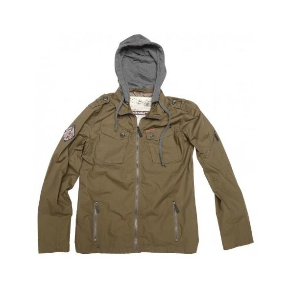 Splendid 35-201-018 μπουφάν τζάκετ khaki