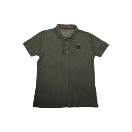 Biston 35-206-005 polo washed khaki