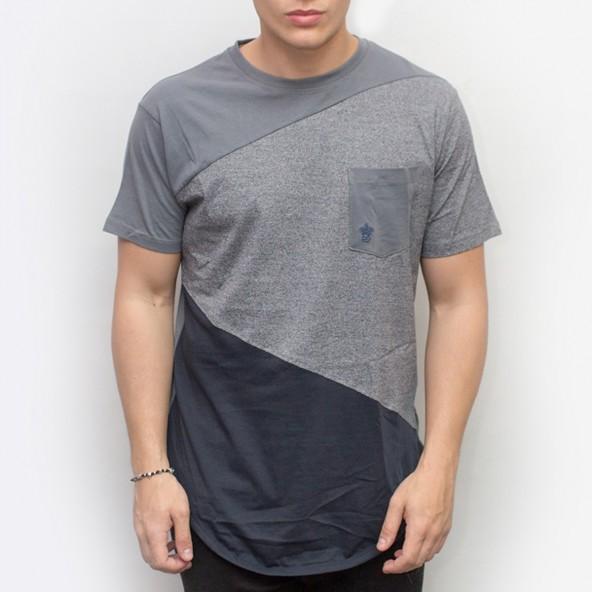 Smart 35-206-021 SoulStar μπλουζάκι τρίχρωμο ανθρακί