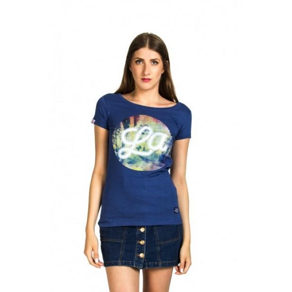 Splendid 37-106-002 Sunset t-shirt indigo