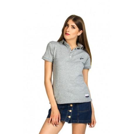 Biston 37-106-003 Ibiza μπλουζάκι polo grey mel