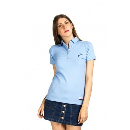 Biston 37-106-003 Ibiza μπλουζάκι polo ciel