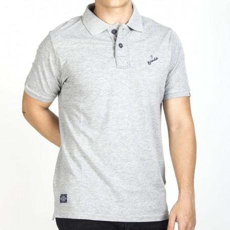 Splendid 37-206-007 ανδρικό polo shirt ανοιχτό γκρί