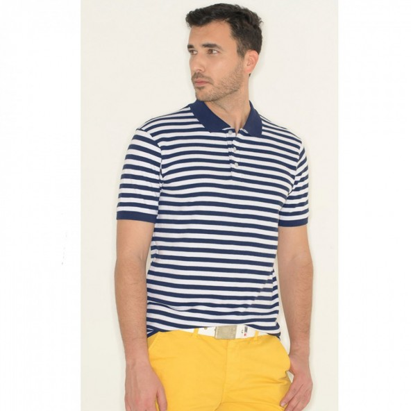 Smart 43-206-027 polo shirt navy