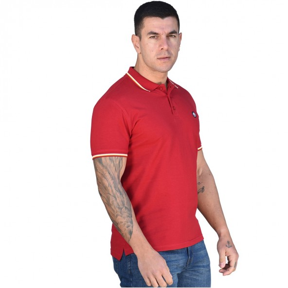 Splendid 43-206-029 polo shirt red