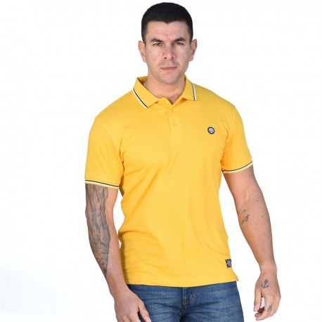 Splendid 43-206-029 polo shirt yellow