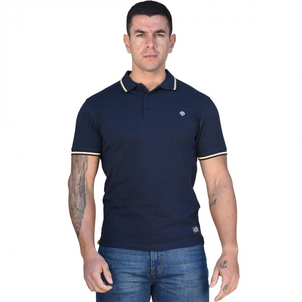 Splendid 43-206-029 polo shirt navy