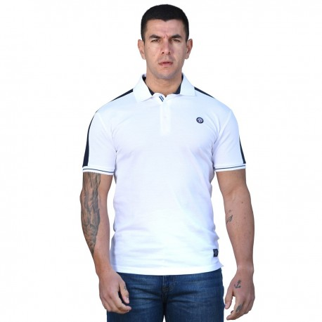 Splendid 43-206-030 polo shirt white