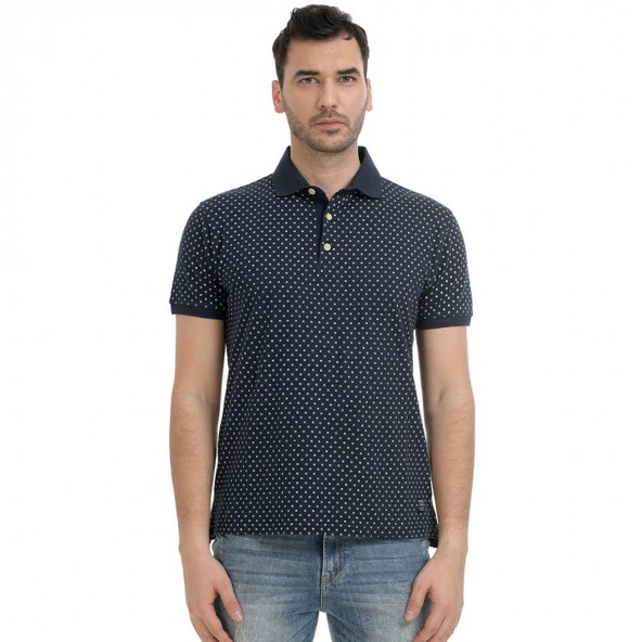 Biston 43-206-031 polo shirt navy