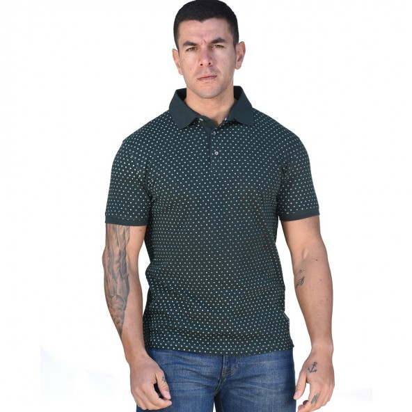 Biston 43-206-031 polo shirt green