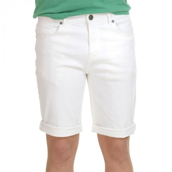 Splendid 43-221-032 βερμούδα jean white