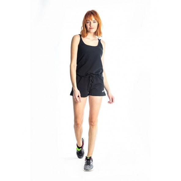 Paco 86410 short jumpsuit black