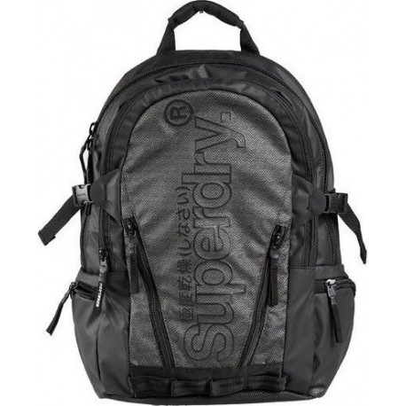 Superdry M9110026A-07Q tarp backpack grey marl