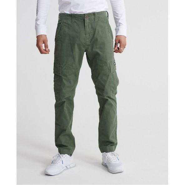 Superdry M7010024A-L1L core cargo pant draft olive