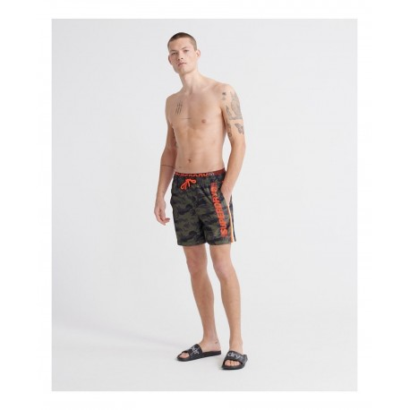Superdry M3010010A-F28 state volley swim short camo