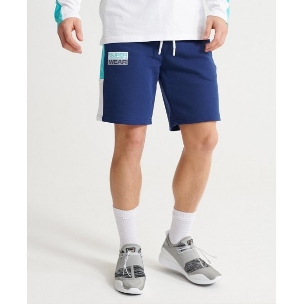 Superdry MS300030A-L6G streetsport shorts beechwater blue
