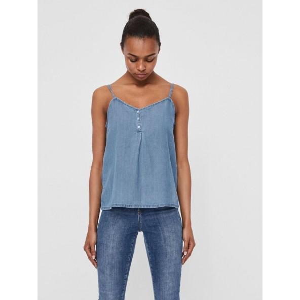 Vero moda 10225375 μπλούζα light blue denim