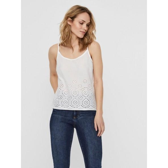 Vero moda 10225956 μπλούζα Snow white