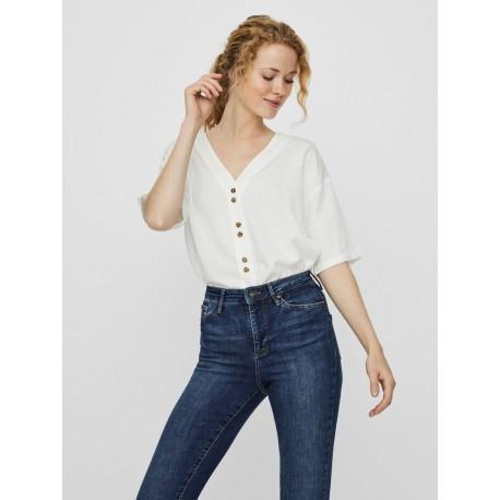 Vero moda 10225888 μπλούζα Snow white