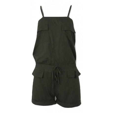 Paco 201677 short jumpsuit khaki