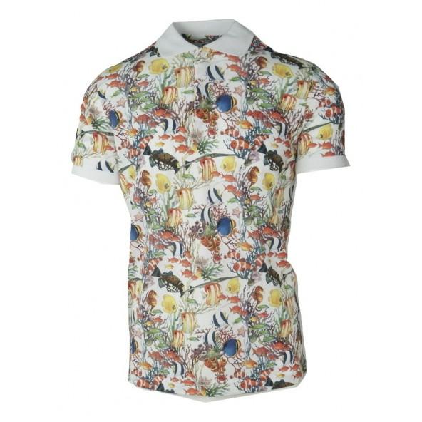 Dario Beltran t-shirt polo 5C 2570 570
