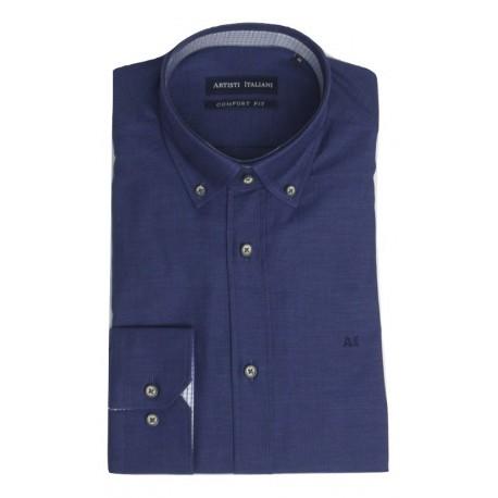 ARTISTI ITALIANI AI18255/CR3D navy shirt