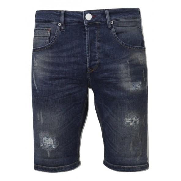 Scinn FERREZ SHP shorts blue denim