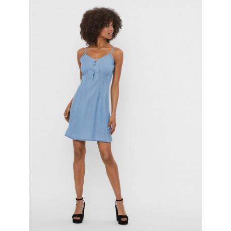 Vero moda 10227488 φόρεμα Light Blue