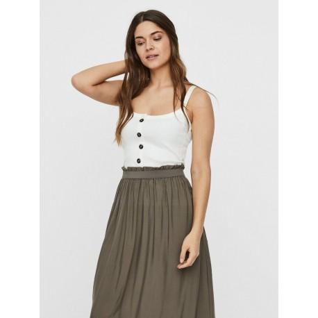 Vero moda 10230198 μπλούζα snow white