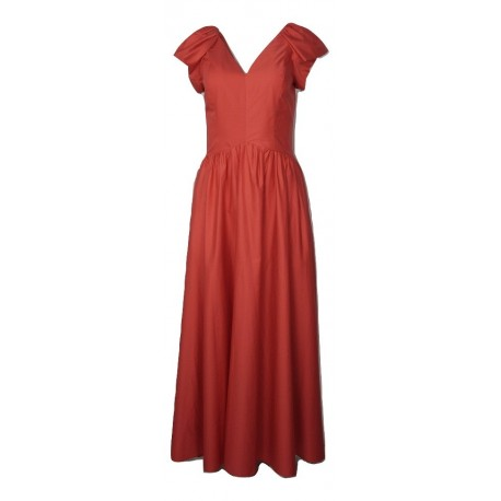 Moutaki 20.07.67 φόρεμα κόκκινο