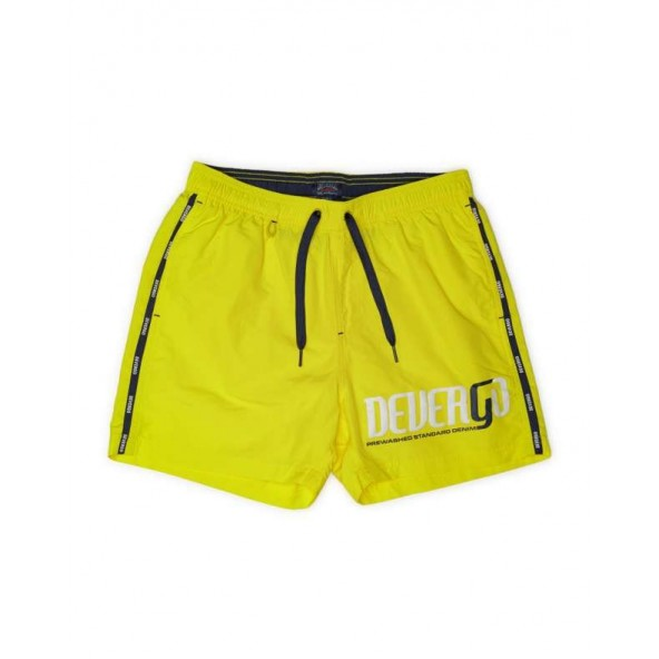 Devergo 1D011051SP6000 49 men beach shorts yellow
