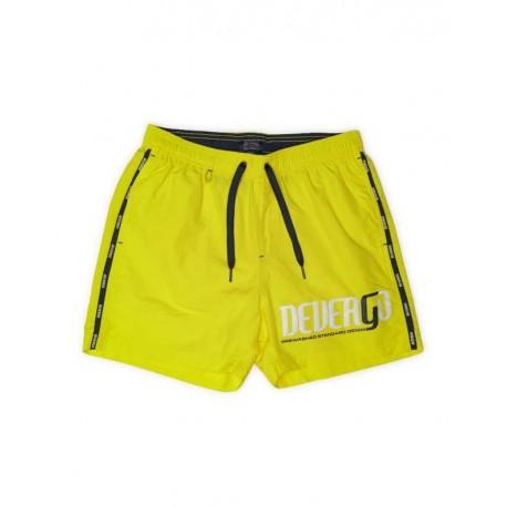 Devergo 1D011051SP6000 49 men beach shorts yellow