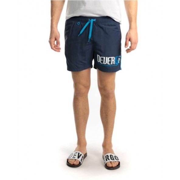 Devergo 1D011051SP6000 14 men beach shorts blue navy