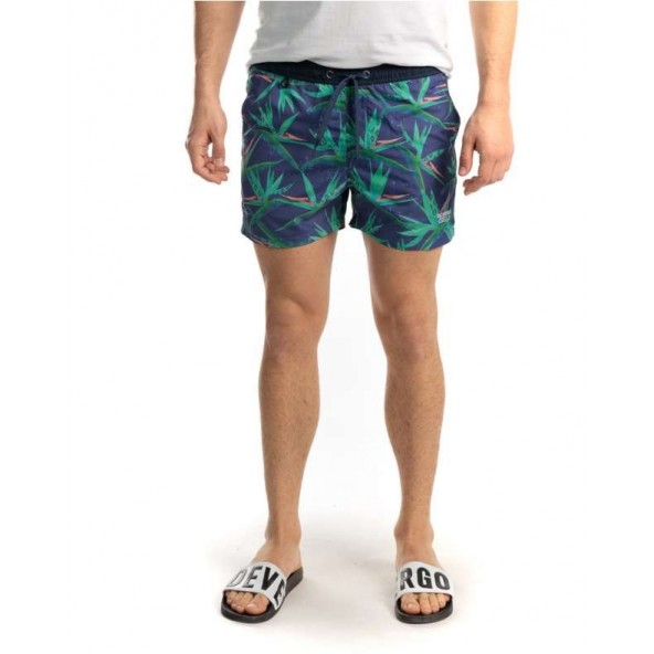 Devergo 1D011061SP6000 72 men beach shorts blue