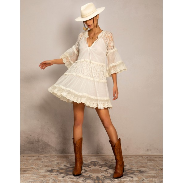 Peace & Chaos COUNTRY DAY SHORT DRESS ΦΟΡΕΜΑ