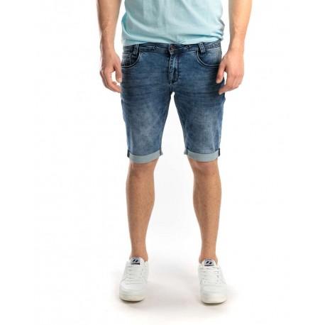 Devergo 1D011130MP7145 45 men jogjeans shorts blue