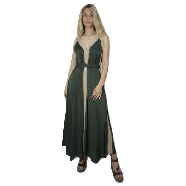 Moutaki 20.07.52 φόρεμα χακί