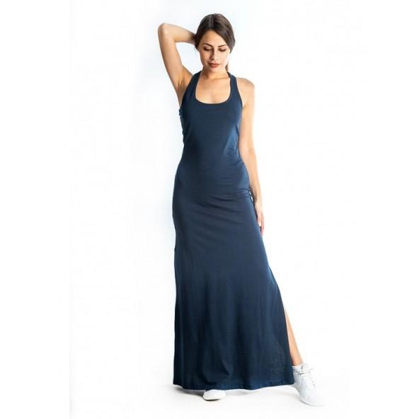 Paco 86100 navy blue Φόρεμα