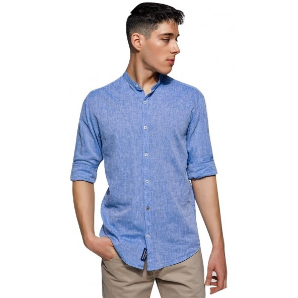Edward MP-N-SRT-S20-005-FADED DENIM shirt