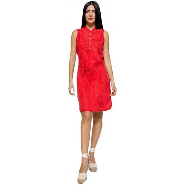 Edward WP-N-DRS-S20-006-RED KIANA-OR DRESS