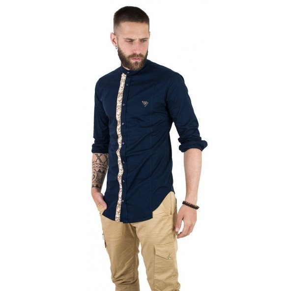 Stefan 9008 - S/S 20 SHIRT BLUE