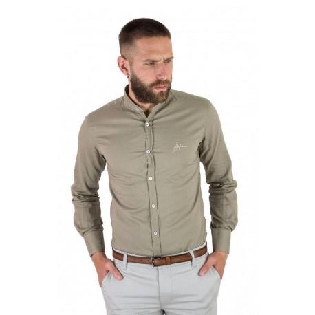 Stefan 9030 - s/s 20 shirt khaki