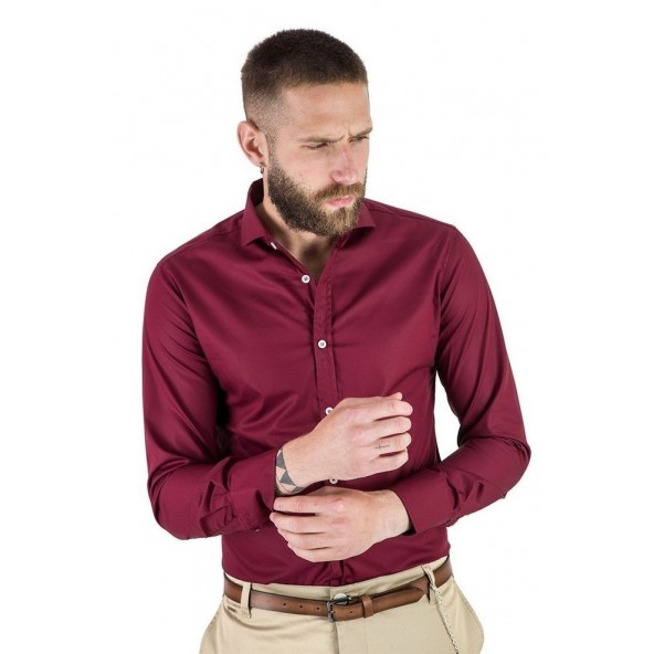 Stefan 9061 - F/W 20 shirt bordeaux