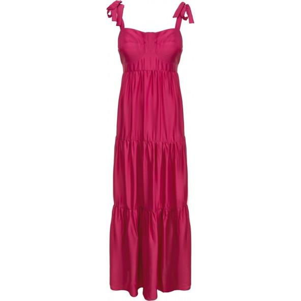 Moutaki 20.07.74 Φόρεμα Φούξια